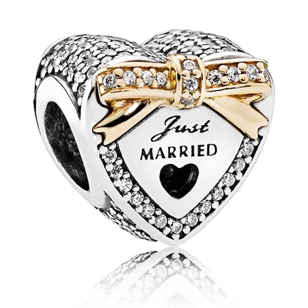 Just Married Pandora Charm
